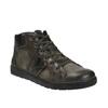 Pánská kotníčková obuv kožená bata, šedá, 846-2602 - 13