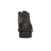 Kotníčková obuv z broušené kůže bata, šedá, 846-6611 - 17