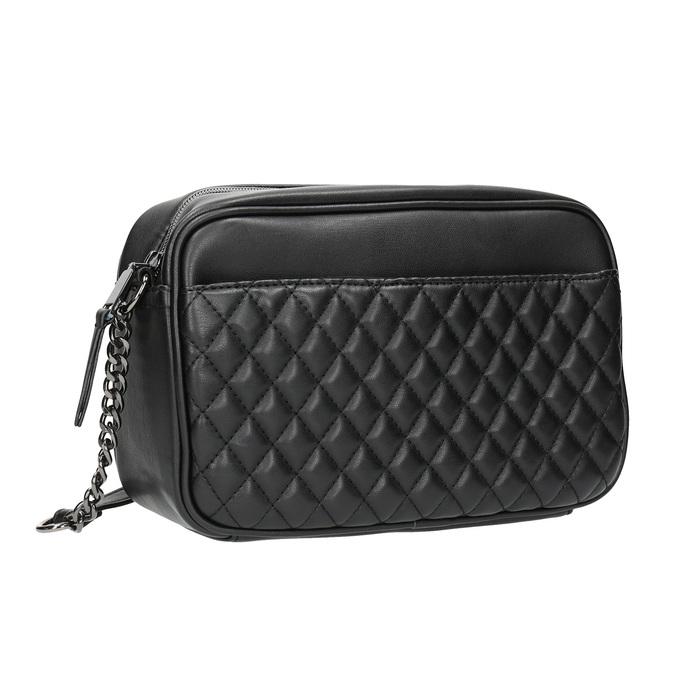 Dámská Crossbody kabelka s prošíváním bata, černá, 961-6158 - 13