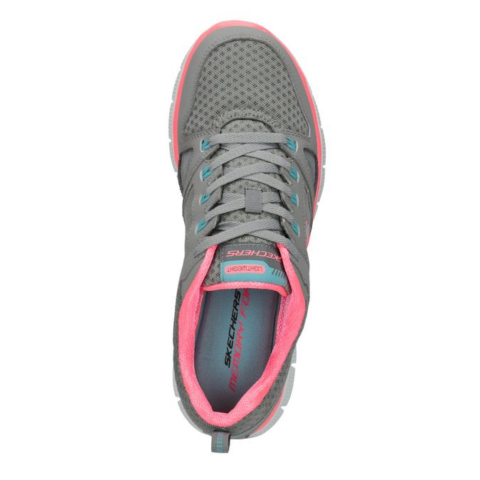 Dámské sportovní tenisky skechers, šedá, 509-2352 - 19
