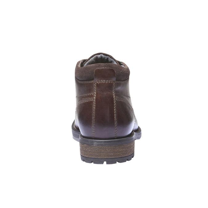 Ankle Boots bata, hnědá, 894-4661 - 17