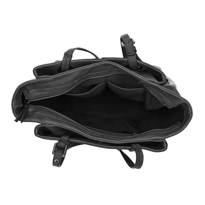 Kabelka ve stylu Tote Bag bata, černá, 961-6123 - 15