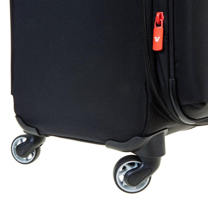 Černý kufrt na kolečkách roncato, černá, 969-6632 - 19