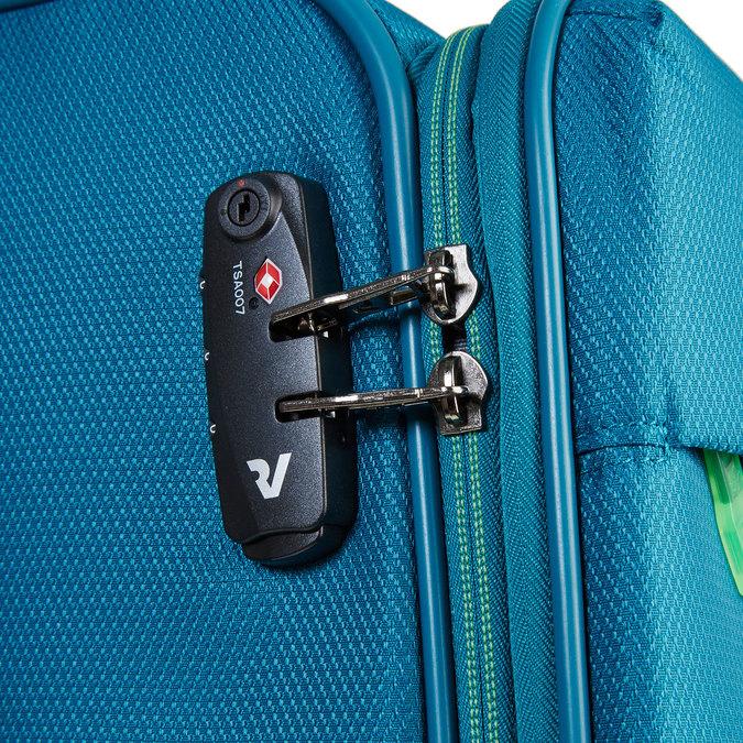 Modrý cestovní kufr roncato, tyrkysová, 969-7637 - 17