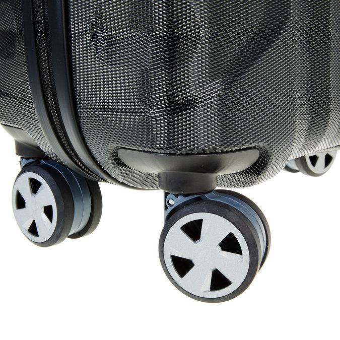 Černý cestovní kufr na kolečkách roncato, černá, 960-6602 - 19
