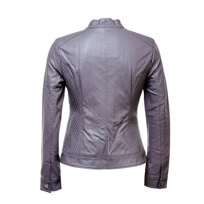 Dámská bunda s prošíváním bata, šedá, 971-2183 - 26