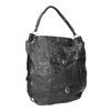 Kožená kabelka a-s-98, černá, 966-6022 - 13