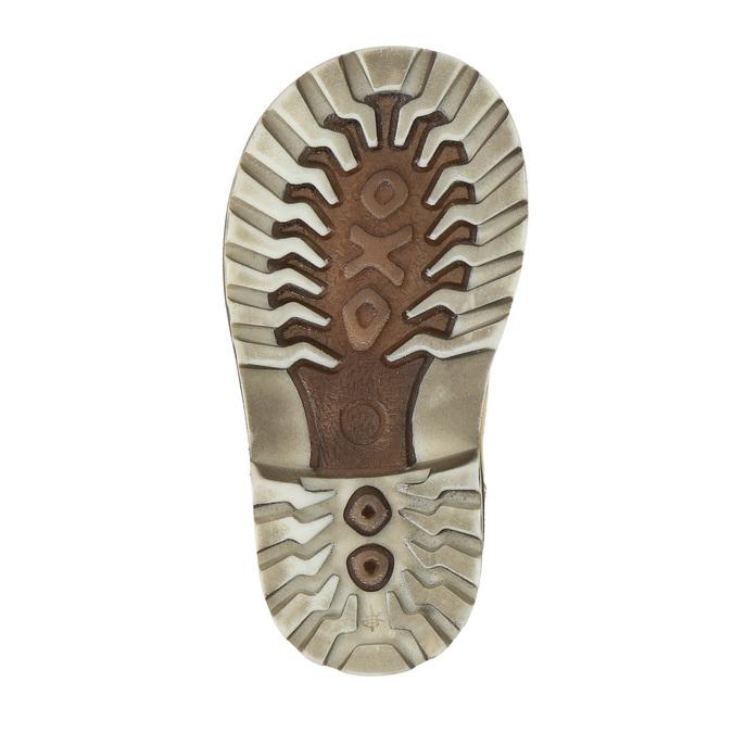 Dětská kožená obuv richter, béžová, 296-8003 - 26
