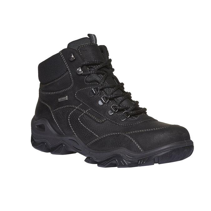 Outdoorové zimní boty ke kotníkům bata, černá, 894-6123 - 13