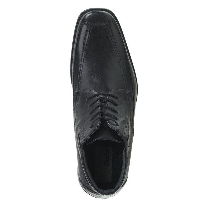 Kožené polobotky bata, černá, 894-6429 - 19