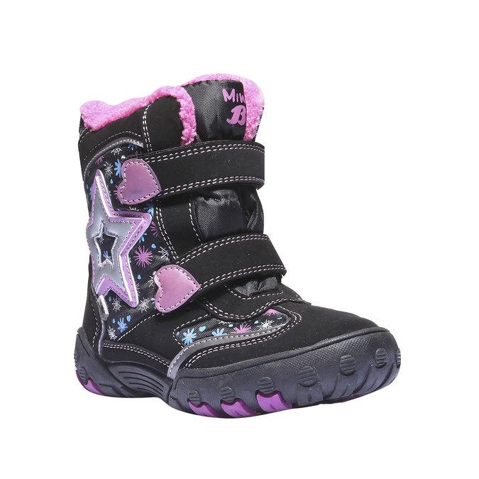 Kids shoes mini-b, černá, 291-6100 - 13