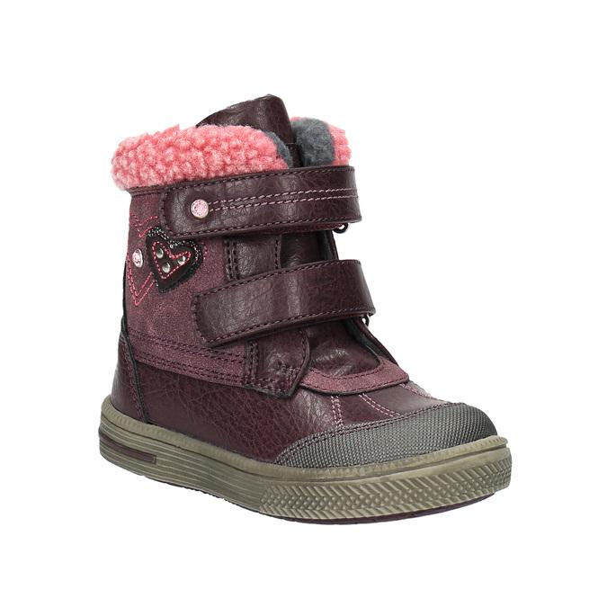 Dětská kotníčková obuv bubblegummer, fialová, 191-9614 - 13