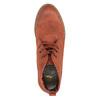 Dámská kotníčková obuv s barevnou podšívkou bata, oranžová, 599-5605 - 19