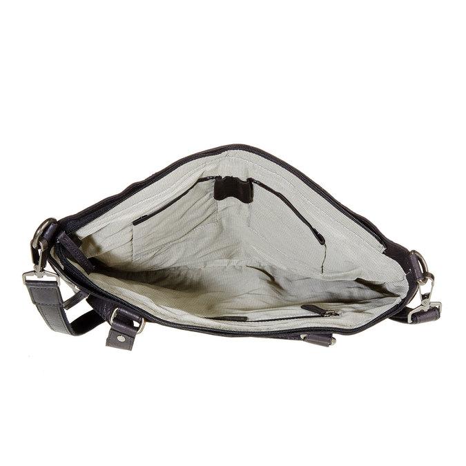 Kožená dámská kabelka bata, černá, 964-6132 - 15