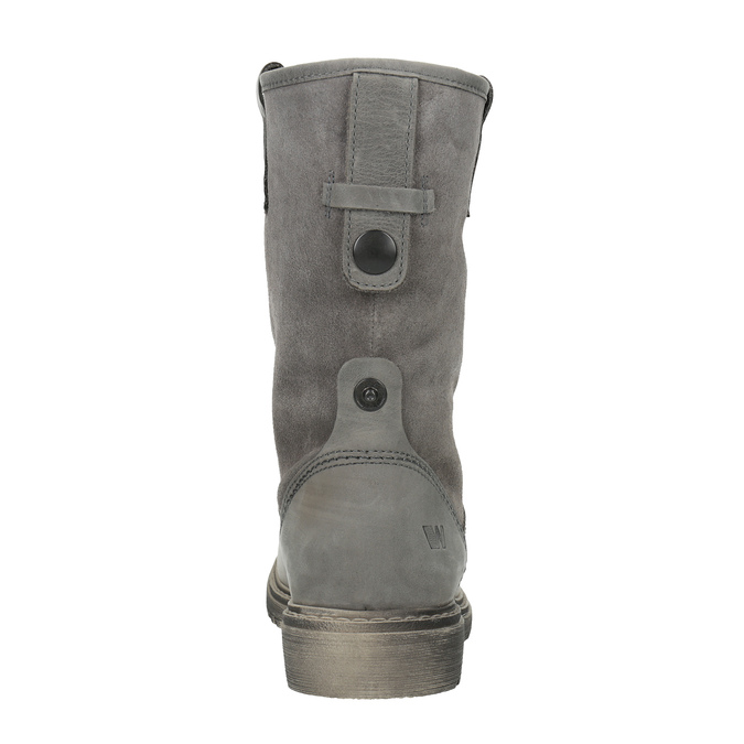 Dámská kožená zimní obuv weinbrenner, 596-0100 - 17