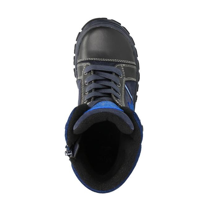 Dětská zimní obuv mini-b, modrá, 411-9602 - 19