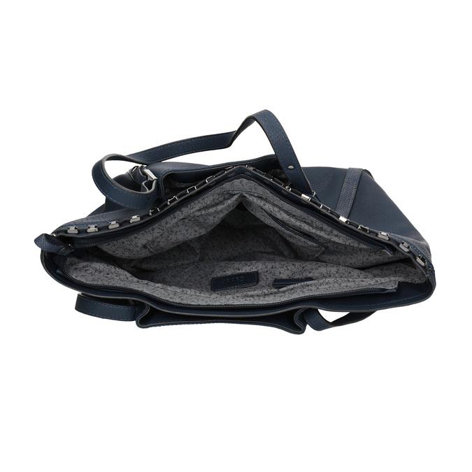 Dámská kabelka  v Shopper stylu gabor-bags, modrá, 961-9006 - 15