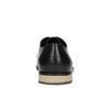 Pánské kožené polobotky s ležérní podešví bata, černá, 824-6728 - 17