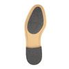 Pánské kožené polobotky s ležérní podešví bata, černá, 824-6728 - 26