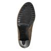 Dámské kozačky na podpatku bata, béžová, 799-2602 - 26