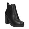 Kotníčková obuv na masivním podpatku bata, černá, 791-6600 - 13