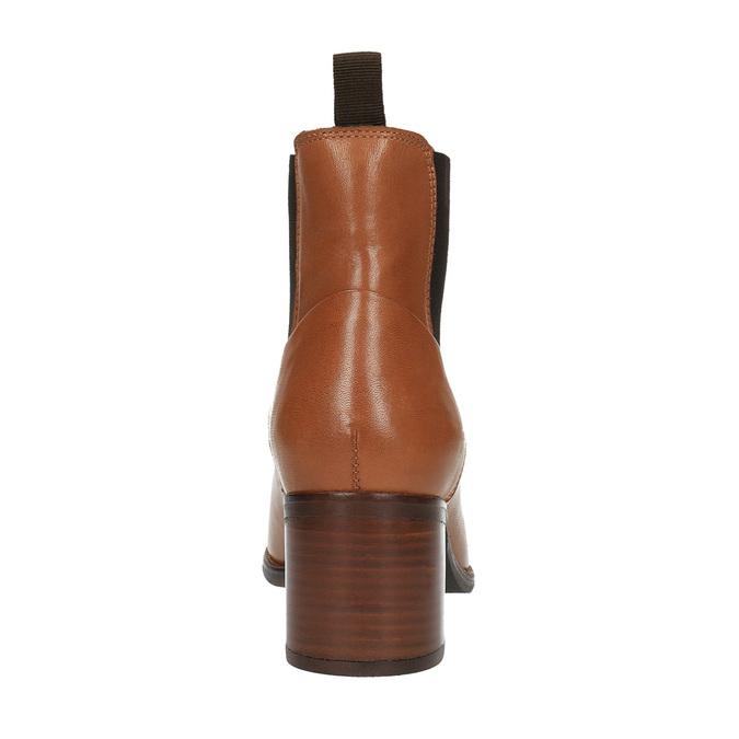 Kožené Chelsea Boots ten-points, hnědá, 716-3003 - 17