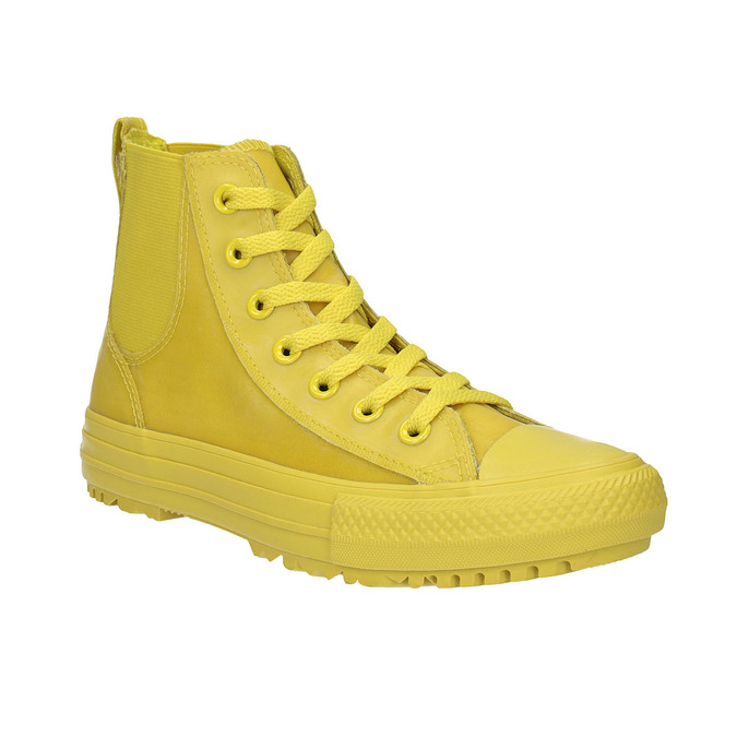 Žluté kotníčkové tenisky dámské converse, žlutá, 541-8080 - 13