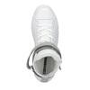 Kožené kotníčkové tenisky bílé converse, bílá, 546-1080 - 19