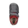 Dětská kožená obuv na suché zipy biomecanics, šedá, 114-5001 - 19
