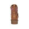 Kotníčkové kozačky v Etno stylu bata, hnědá, 599-4604 - 17