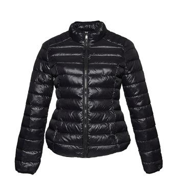 Černá bunda s prošíváním bata, černá, 979-6637 - 13