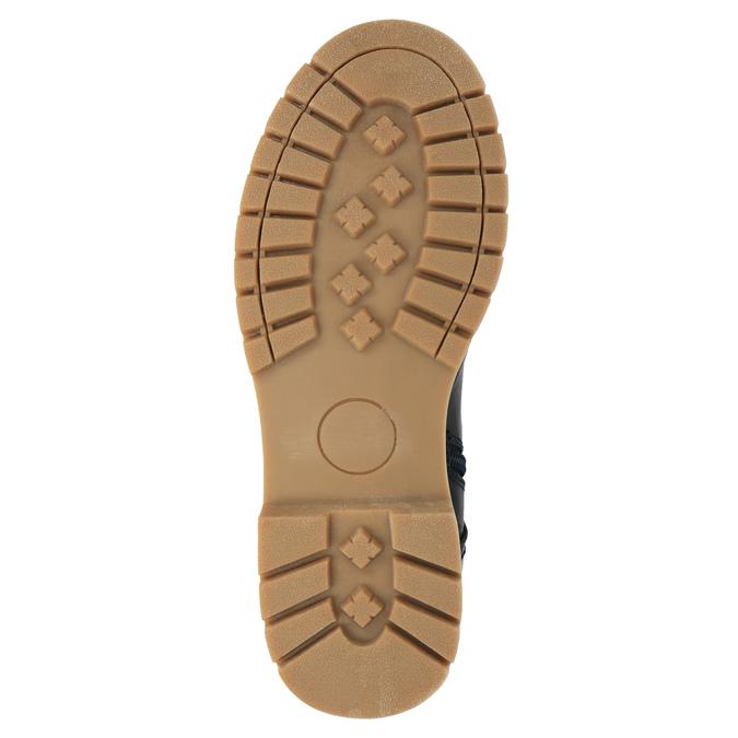 Dětská zimní obuv vysoká mini-b, modrá, 491-9650 - 26