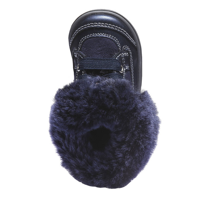 Dívčí kotníčková obuv richter, fialová, 193-9005 - 19