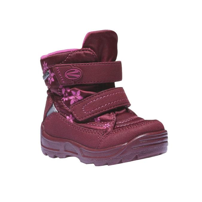 Dětská kotníčková obuv richter, červená, 199-5004 - 13