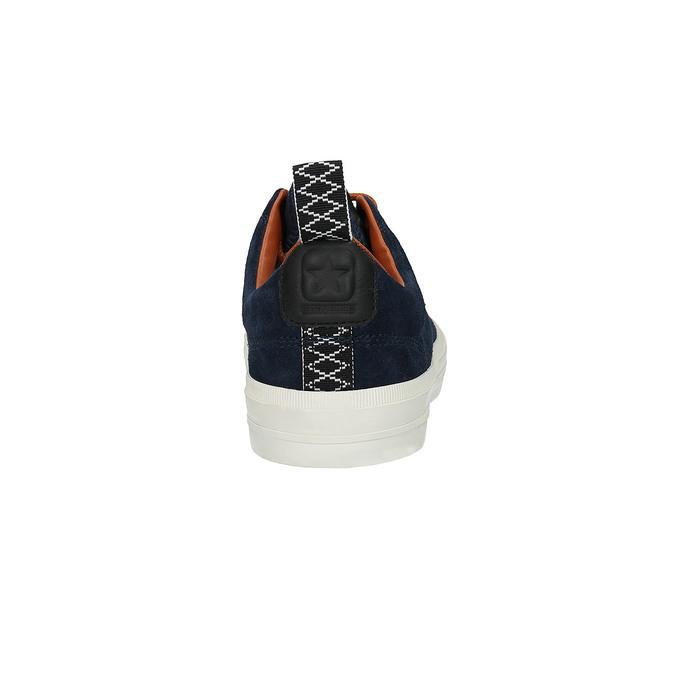 Pánské kožené tenisky converse, modrá, 843-9082 - 17