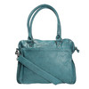 Dámská kožená kabelka sticksandstones, tyrkysová, 964-9005 - 19