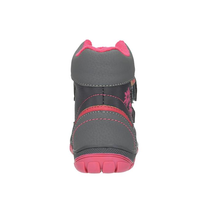 Kotníčková dětská obuv mini-b, šedá, 299-2610 - 17