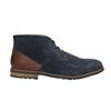 Kotníčková obuv z broušené kůže rockport, modrá, 826-9001 - 15