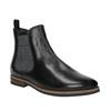 Dámské kožené Chelsea Boots bata, černá, 596-6607 - 13