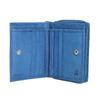 Kožená dámská peněženka bata, modrá, 944-9157 - 15