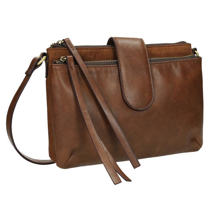 Dámská Crossbody kabelka hnědá bata, hnědá, 969-3458 - 13