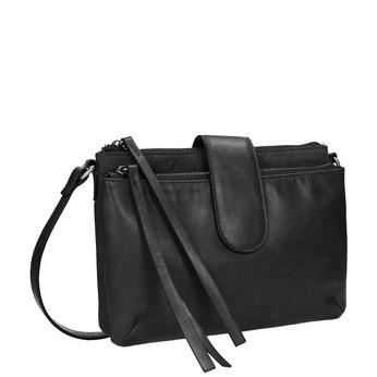 Menší kabelka přes rameno bata, černá, 969-6458 - 13