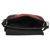 Crossbody kabelka s Etno vzorem bata, černá, 969-6642 - 15