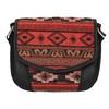 Crossbody kabelka s Etno vzorem bata, černá, 969-6642 - 19