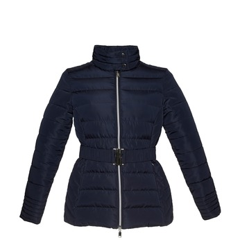 Dámská bunda se sponou bata, modrá, 979-9640 - 13