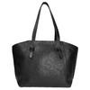 Černá kožená kabelka bata, černá, 964-6205 - 26