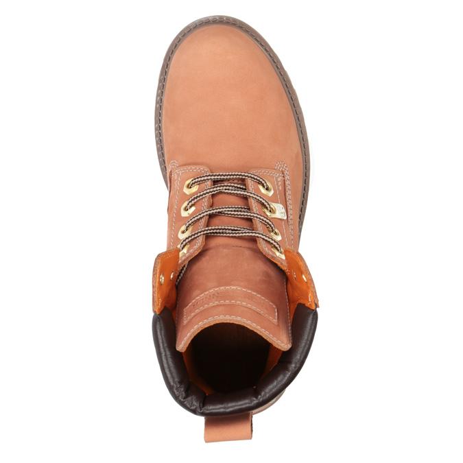 Dámská obuv ve stylu Worker Boots weinbrenner, oranžová, 596-5629 - 19