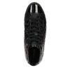 Dámské kotníčkové tenisky s prošíváním geox, černá, 521-6033 - 19