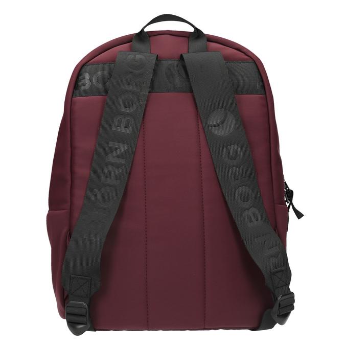 Textilní stylový batoh bjorn-borg, červená, 969-5037 - 26