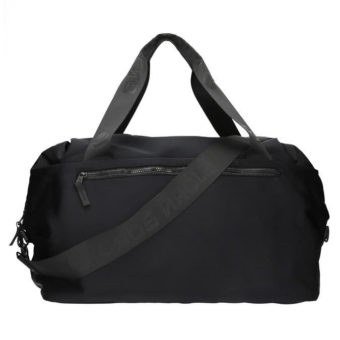 Textilní cestovní taška bjorn-borg, černá, 969-6035 - 26